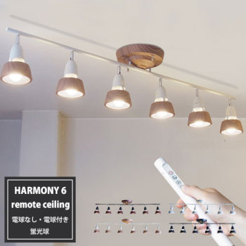 Harmony 6-remote ceiling lamp
